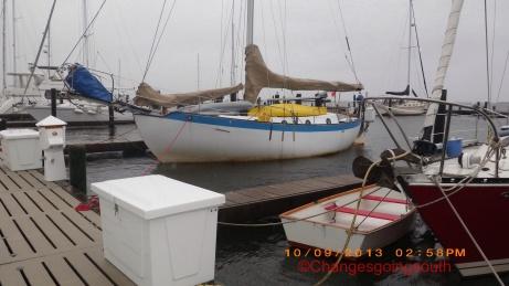 SV Rode Trip at Oriental Harbor Marina