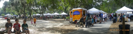 Farmers Market in Port Royal