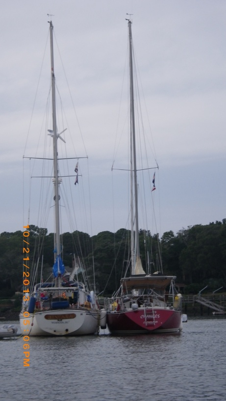 Changes rafted off Bentana at Hilton Head