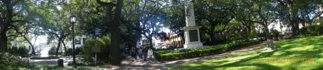 Square in Savannah