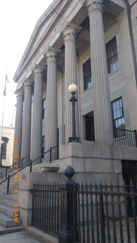 Savannah Customs House on Bay Street