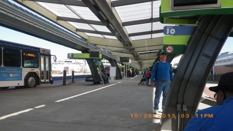 The main bus terminal in Savannah.